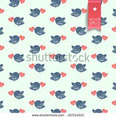 Retro Seamless Rocket Pattern Banco de ilustração vetorial 128978819 : Shutterstock