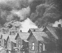 Great Atlanta fire of 1917 - The fire in the 4th Ward