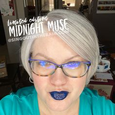 Limited Edition Midnight Muse LipSense by SeneGence is a cool color. You can view it on people, look at combos or comparisons or even in a collage.  However, nothing rivals seeing it on a real person.  Click to purchase yours NOW!  #lipsense #senegence