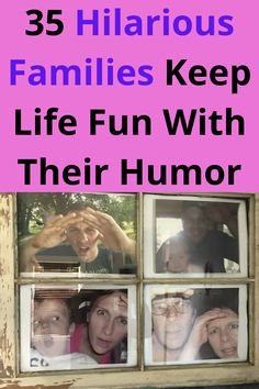 Some people have an incredible sense of humor. It just seems to come naturally. But have you ever met an entire family with an uncanny ability to make everyone laugh? Believe it or not…they exist. Those are the ones you want to be friends with since there's never a dull moment.