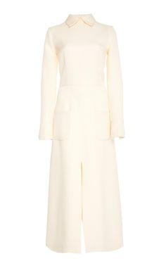 REBECCA DE RAVENEL JACQUARD SILK WOOL DRESS. #rebeccaderavenel #cloth #