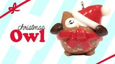 Kawaii Christmas Owl Polymer Clay Tutorial