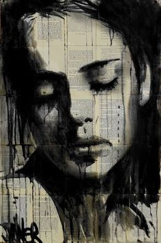 """Saatchi Art Artist Loui Jover; Drawing, """"truly, madly, deeply"""" #art"""
