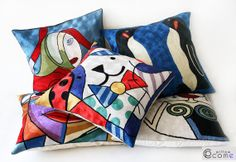 www.etsy.com/listing/181413257/art-decorative-modern-pillow-cover-home Art Decorative Modern Pillow Cover Home Decor by pillowcome, $74.00