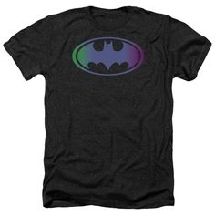"""Checkout our #LicensedGear products FREE SHIPPING + 10% OFF Coupon Code """"Official"""" Batman / Gradient Bat Logo-adult Heather - Batman / Gradient Bat Logo-adult Heather - Price: $34.99. Buy now at https://officiallylicensedgear.com/batman-gradient-bat-logo-adult-heather"""