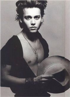 wow, he's always been this good looking | Johnny Depp young pictures, younger photos | Movie Stars Pictures