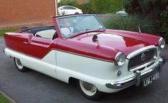 eBay watch: 1950s Austin Nash Metropolitan convertible car