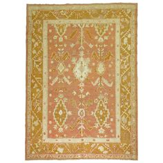 Orange Square, Square Rugs, Types Of Rugs, Orange Rugs, Prayer Rug, Rugs On Carpet, Wool Rug, Antiques, Products
