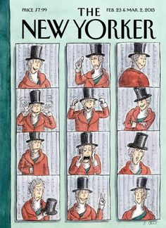 February 23 & March 2, 2015 - Roz Chast - One of nine covers for the 90th anniversary issue