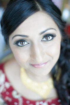 Indian Bridal makeup by Goka Love! Www.gokalove.com Check out our facebook page www.facebook.com/GokaLove.MakeupAndHair and check us out on Instagram @gokalovemakeupandhair