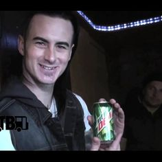 """Mountain Dew, it's good for you."" Bus Invaders RED episode."