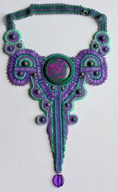 Beautiful jewelry by Albina Lapina | Beads Magic