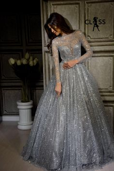 Reception gowns Indian Bridal Photos, Indian Wedding Gowns, Indian Gowns Dresses, Bridal Gowns, Indian Reception Outfit, Bride Reception Dresses, Wedding Dresses, Engagement Dress For Bride, Engagement Gowns