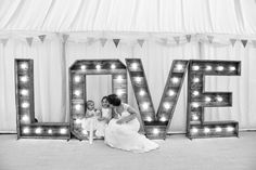 The Hire Supplier Illuminated 'LOVE' letters @ Nyland Manor Pallet Ideas, Love Letters, Love S, Bristol, United Kingdom, The Unit, Rustic, Lettering, Vintage