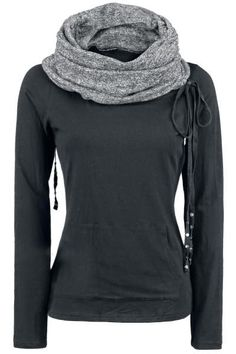 Black Comfy and Cozy Hoodie for Ladies