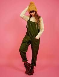 High Quality Corduroy Dungarees, Moss Green 'The Original' Handmade Dungarees Independently Designed in the UK by Lucy and Yak for Women and Men Cotton Dungarees Outfits, Dungaree Dress, Carhartt Jacket, Carhartt Wip, Pin Up, Inspiration Mode, Ethical Clothing, Ootd, Retro Dress