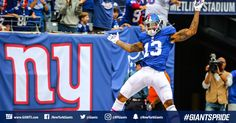 OBJ 222-Coming into work on Monday after a #Giants win!