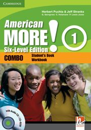 American More! Six-level edition  | Cambridge University Press | Cambridge English - American More! Six-level edition, American MORE! Six-Level Edition is a version of a course from a highly respected author team that's bursting with features for lower secondary students.