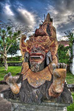 Barong statue, Bali, Indonesia