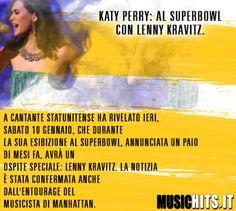 SuperBowl: Confermata la presenza di +Katy Perry e #lannykravitz