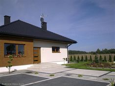 Projekt domu Liv 3 130,11 m2 - koszt budowy 209 tys. zł - EXTRADOM Outdoor Decor, House, Ideas, Home Decor, New Houses, Home, Decoration Home, Room Decor, Home Interior Design