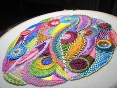 homaaxel - Фантазийная вышивка Крис Ричардс