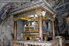 Sanctuary of Santa Rosalia - Palermo: shrine