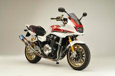 Planet Japan Blog: Honda CB 1300 Super Bol D'Or by Ryujin Japan