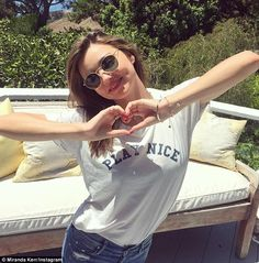 Miranda Kerr pushes anti-bullying campaign after being bullied herself #dailymail