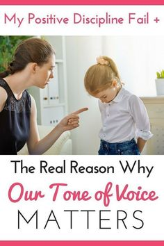 Positive Discipline - The Real Reason Why Our Tone of Voice Matters - Positive . - Positive Discipline – The Real Reason Why Our Tone of Voice Matters – Positive Discipline – - Parenting Books, Parenting Teens, Parenting Humor, Kids And Parenting, Parenting Advice, Gentle Parenting Quotes, Mindful Parenting, Single Parenting, Toddler Discipline