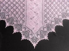 Yarn: This shawl is worked with Australian merino 100% wool yarn (400 m/100 g), and decorated with beads.