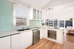 Contemporary Reinvention Of Classic Semi - 31 Reserve Street Annandale at Pilcher Residential