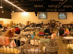 Small Items Could Prevent Major Misery in Emergency Shelters