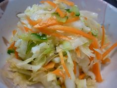 Refreshing Chinese Style Coleslaw