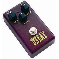 Pedal de efecto para guitarra sonido Delay