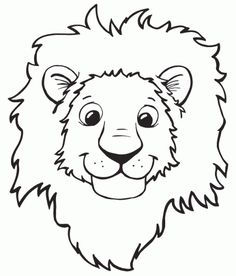 Tiger coloring pages google haku viidakko pinterest for Lion mask coloring page