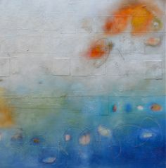 """Alayne Spafford, fortythree-38, Mixed media on canvas, 40"""" x 40"""" www.musegallery.ca"""