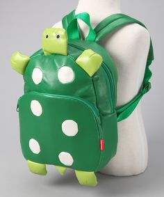Turtle Vinyl Backpack on Zulily.