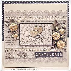 papirdesign-blogg: Enda et bryllupskort :)