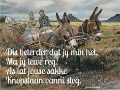 Ink skryf in Afrikaans