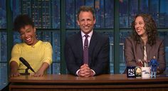 Seth Meyers Gets Help Delivering The Jokes Straight White Men Shouldn't Tell