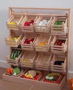 rangement pour fruits et l gumes rangement l gumes fruits pinterest fruit l gumes et. Black Bedroom Furniture Sets. Home Design Ideas