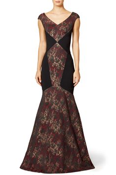 Rent Persian Diamond Gown by Theia for $175 only at Rent the Runway.