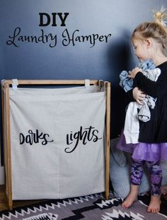 Laundry Hamper DIY o