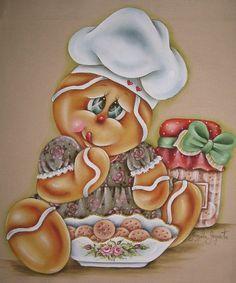Resultado de imagen para pinterest pintura country navidad