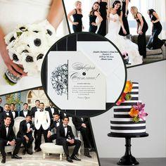 """Приглашения """"Незабудки"""". Этот дизайн идеально подойдет под классическую свадьбу в черно-белых оттенках. И самое главное это приглашение вы можете скачать абсолютно бесплатно."""
