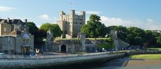 Rochester Castle and Town Walls Rochester Castle, Over The River, Forts, Castles, New York Skyline, Walls, England, Heart, Travel