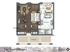 Hotel Floor Plan, Hotel Room Design, American Interior, Room Planning, Hotel Suites, Master Suite, Guest Room, House Plans, Floor Plans
