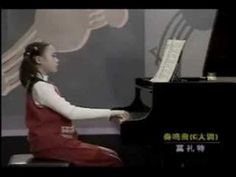 The incredibly talented Yuja Wang playing piano as a little girl! The best start early!