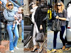 Love her street chic style